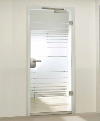 Smoke Proof Glass Doors